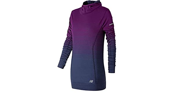 39dd8ec3e160a New Balance Merino Ombre Hoodie - Women's Claret, M at Amazon ...
