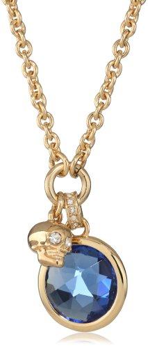 Juicy Couture Mini Blue Charm Necklace