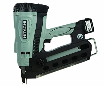 Hitachi NR90GR2 3.5-Inch Gas Powered Plastic Strip Collated Cordless Framing Nailer Gun