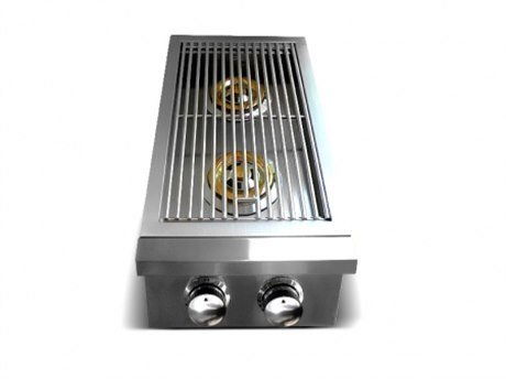RCS Gas Grills Premier Series Stainless Steel Double Side Slide-in Burner - NG by RCS Gas Grills
