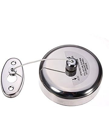 WINOMO ropa Linea externa de acero inoxidable retráctil Individual Ropa Linea secador Servicio colada interior
