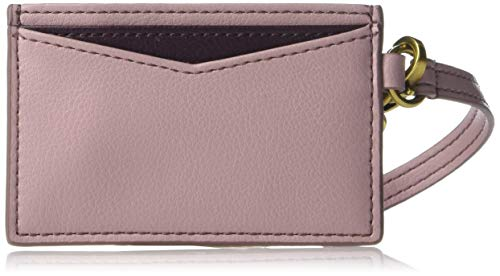 (Fossil Card Case Orchid Tint, One Size )