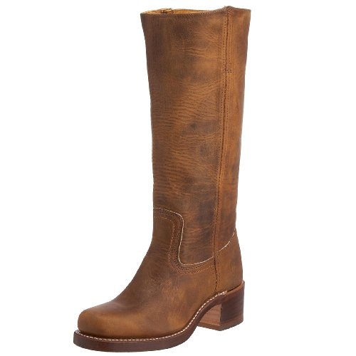 FRYE Women's Campus 14L Boot, Dark Brown, 7.5 M US