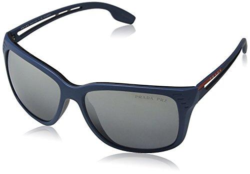 Blue Gafas 03TS de 0PS Hombre Matte 59 Linea Sol Rossa para Prada wqOpvt