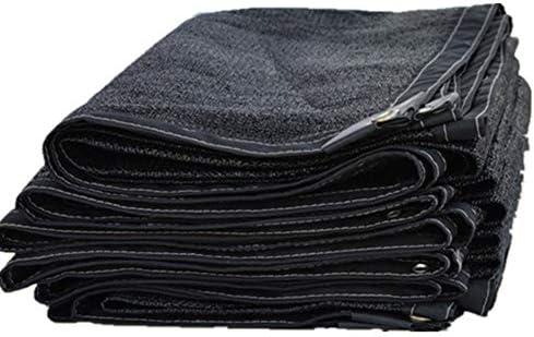 偽装網 農業用遮光ネット 花シェーディングネット繁殖、85%ブラックサンスクリーンシェード布家庭パティオ温室 (Color : Black, Size : 10x14m)