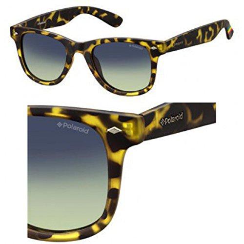 Yellow Havana Sunglasses (Polaroid Sunglasses Pld6009ns Wayfarer, Havana Yellow/Brown Gradient, 48)