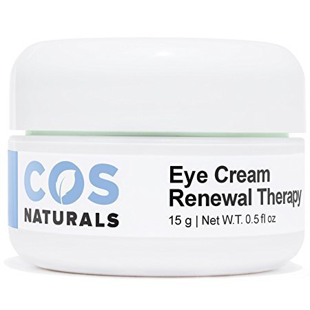 COS Naturals Eye Cream Renewal Therapy with Vitamin C E Hyaluronic Acid For Dark Circles Puffiness Fine Lines and Wrinkles, 15 Grams 0.5 fl.oz ()