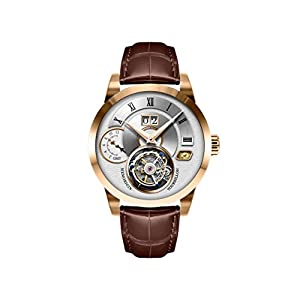 Men Grand Series Gold color case Tourbillon AT1003 Memorigin