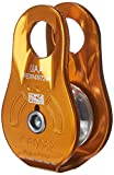 PETZL - FIXE, Pulley with Fixed Side Plates, Yellow
