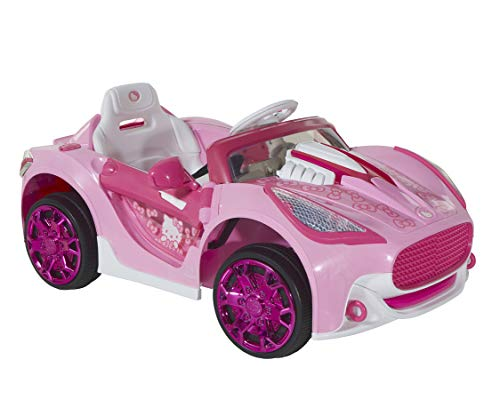 Dynacraft Hello Kitty 6V Super Car with Rechargeable Battery
