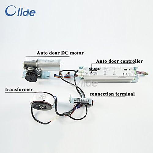 Olide - Panel de control y motor de repuesto para puerta corredera automática: Amazon.es: Bricolaje y herramientas