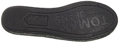 Casual Nero nero Donna Espadrillas Flessibile Slip 990 Tommy Jeans On CxwtnqHga
