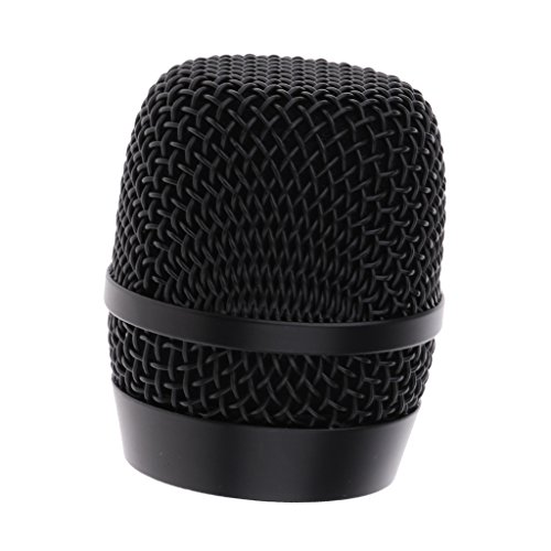 - MagiDeal Durable Steel Mesh Microphone Replacement Grill Ball Head Mic Accessory