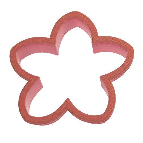 Flower 5 Petal Cookie Cutter 4 in PC0446 - CookieCutter.com - Plastic - Made In USA