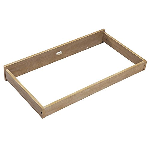 Baby Relax Ridgeline Changing Topper, Rustic Natural - Natural Changing Table