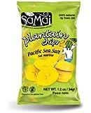 Samai Plantain Chips Pacific Sea Salt 1.2 oz (Pack of 60)