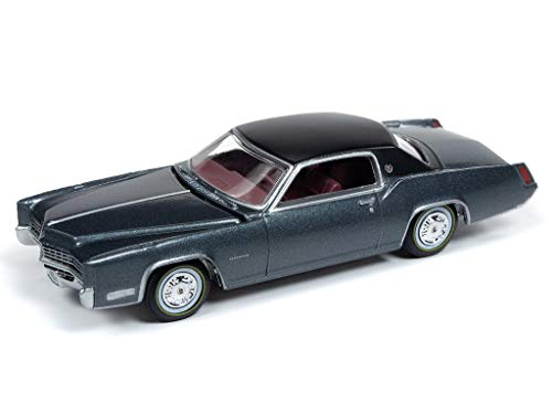 Auto World 64212 1:64 Luxury Cruisers 1967 Cadillac Eldorado Gray Poly Series A