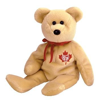 1 X TY Beanie Baby - TRUE the Bear (Canada Exclusive)