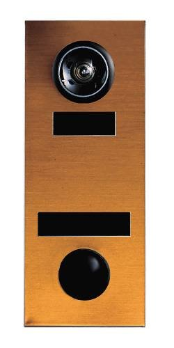 Auth-Florence 686104-00 Non Electric Door Chime, Bronze