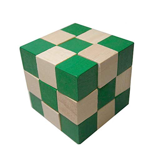 SHENSHOU Children Puzzle Cube Wooden Dragon Deformation Rubik's Cube Toy