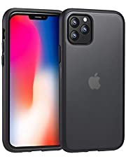 """Eono by Amazon - Essential iPhone 11 Case Cover, Fully Protective iPhone 11 Case with Matt Hard PC Back Flexible Shockproof Bumper TPU Silicone Phone Case for iPhone 11-6.1"""" (2019) - Black"""