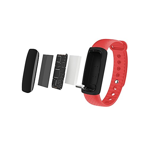 Fitness Tracker, MoreFit OLED Screen Smart Watch Bluetooth Healthy Wristband Activity Tracker