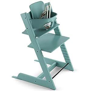Stokke 2019 tripp trapp high chair aqua blue for Stokke tripp trapp amazon