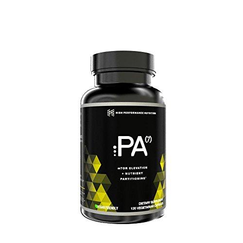 HPN PA 7 Mediator 120 Caps Phosphatidic Acid Muscle Builder mTor High Performance Nutrition Supplements L-Leucine