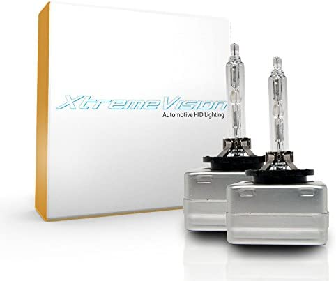 - 2 Year Warranty D1S // D1R // D1C XtremeVision HID Xenon Replacement Bulbs 1 Pair 4300K Daylight