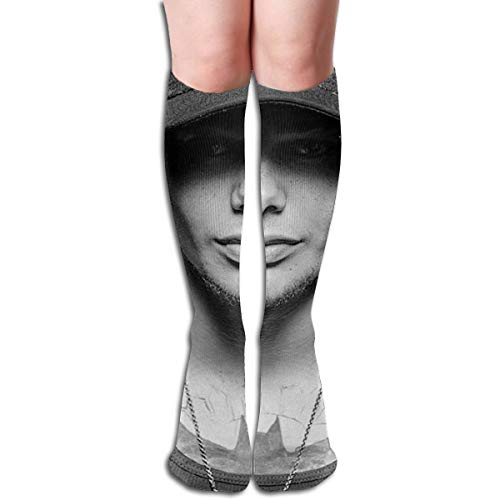 KennedyF Unisex Kane Brown Chapter Knee High Socks Stockings Soft Tube Socks Novelty Crew Athletic Socks Comfortable Long Socks ()