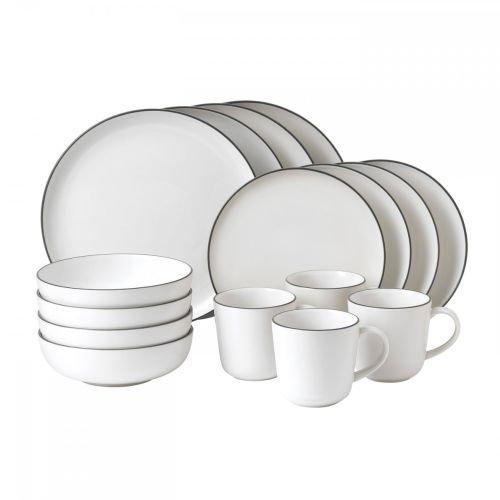ce Bread Street Dinnerware Set, White ()
