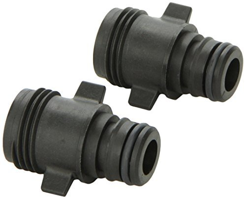 Flojet 20381-007 Electric Pump Fitting - Quad Port x Garden Hose Adapter, Straight
