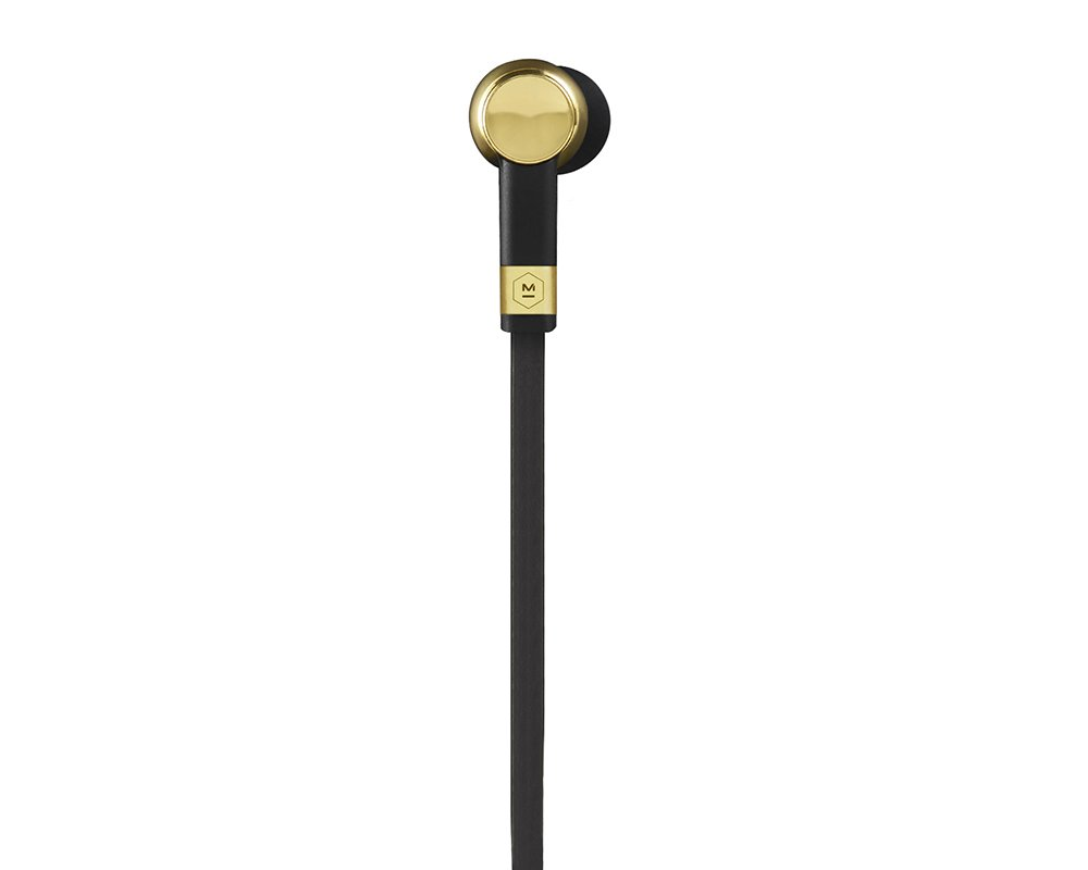 Master and Dynamic ME05 Earphones, Brass by Master & Dynamic