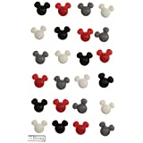 EK Success Jolees Disney Sticky Brads, Mickey
