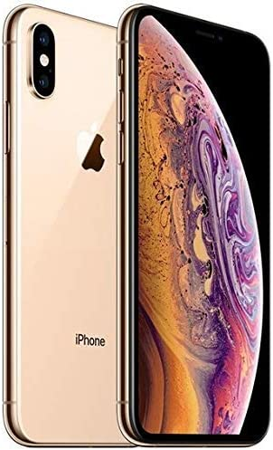 Apple iPhone XS Max, 512GB, Gold - For AT&T / T-Mobile (Renewed)