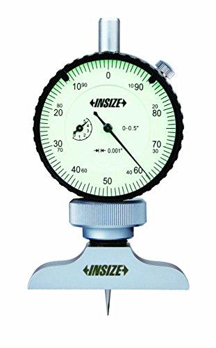 INSIZE 2341-E1 Dial Depth Gage, 0.001
