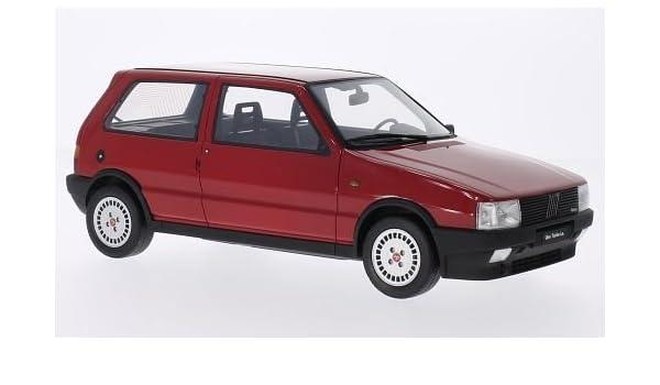 Fiat Uno Turbo i.e, rojo, 1987, Modelo de Auto, Modello completo, Laudoracing-Model 1:18: Laudoracing-Model: Amazon.es: Juguetes y juegos