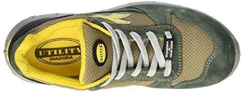 Diadora - Calzado de protección para hombre Verde (Verde Oliva/beige Corda)