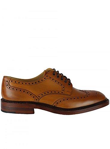 Loake - Chaussures À Lacets En Cuir Pour Homme Brun Cannelle à prix réduit b2xvvmga