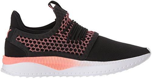 M PUMA White US Men's Shell Sneaker Tsugi 5 8 Black Netfit Pink 71qv7