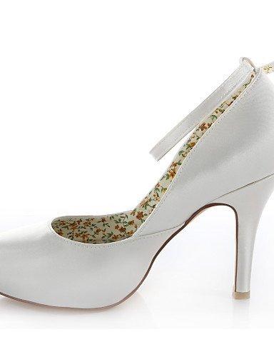 Ei&iLI Zapatos de boda-Tacones-Tacones-Boda / Vestido / Fiesta y Noche-Marfil-Mujer , ivory Ivory