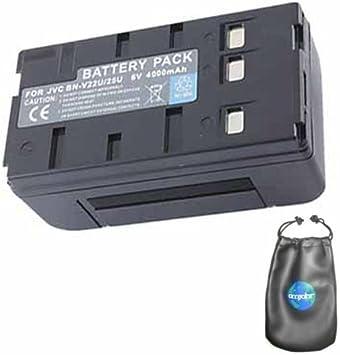 Amazon Com Digital Replacement Camera And Camcorder Battery For Jvc Bn V25 V25u V65 Includes Lens Pouch Digital Camera Batteries Camera Photo