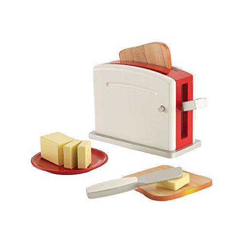 KidKraft Busy Bakin' Toaster Set (Toaster Play Pretend)