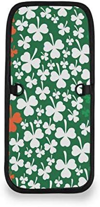 トラベルウォレット ミニ ネックポーチトラベルポーチ ポータブル アイルランド シャムロック 小さな財布 斜めのパッケージ 首ひも調節可能 ネックポーチ スキミング防止 男女兼用 トラベルポーチ カードケース