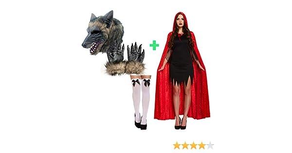 Desconocido Caperucita Roja y Traje de Pareja de Lobo Disfraces de ...