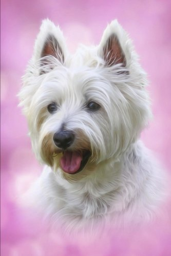 (Westie Pup - West Highland Terrier Puppy Journal: 150 page lined notebook/diary)