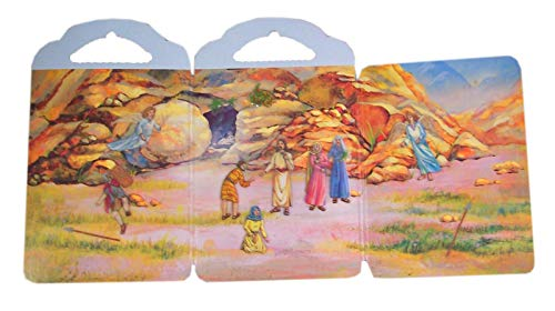 DTC Children's Bible Resurrection Story Picture Board with Reusable Stickers