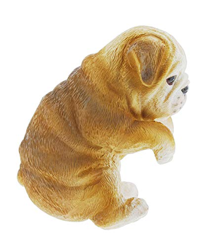 Distinctive Designs Hanging Puppy Figurine for Planters and Vases (Bulldog)