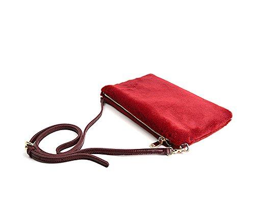 MY femme Pochette Red AGLAIA pour fqTHZ