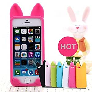 GJY Cute Cat Silicon Soft Case for iPhone 6 (Assorted Colors) , White